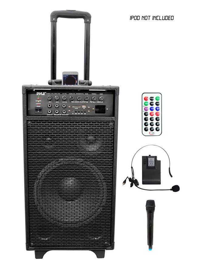 Amazon Com Pyle Pwma1090ui Wireless And Portable Pa