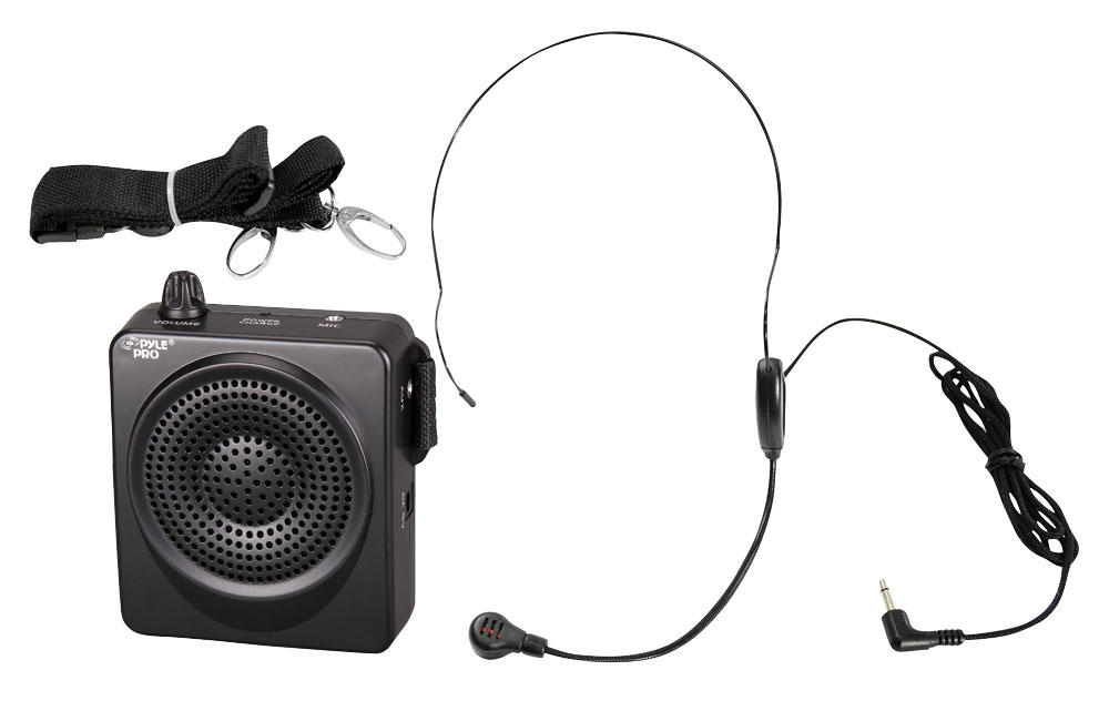 Pyle Pro Pwma50b 50 Watts Portable Waist Band Portable Pa