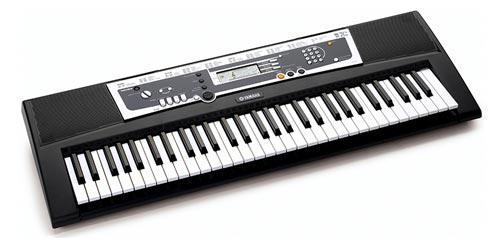 musical instruments yamaha ypt210 61 full size keyboard bundle. Black Bedroom Furniture Sets. Home Design Ideas