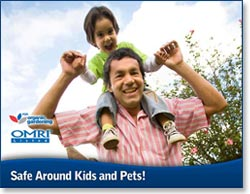 Safe around kids and pets