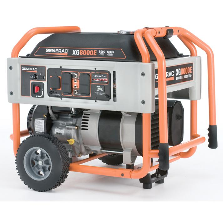 Miraculous Generac 5847 Xg8000E 8000 Watt Portable Generator Review Power Up Wiring Cloud Hisonuggs Outletorg