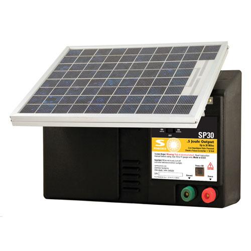 Amazon Com Zareba Sp30 Solar Powered Low Impedance 30