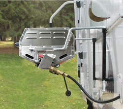 Camco Olympian Stainless Steel Grill Rv Wall Mount Cooking