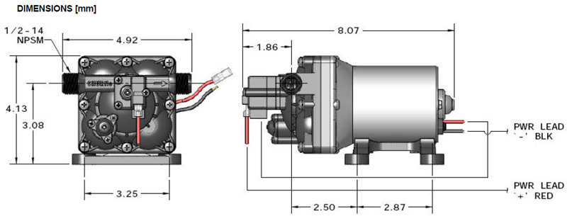 Shurflo Power Water Pumps Revolution Car Rv Trailer 12 V 3