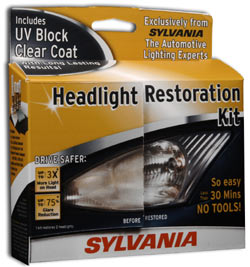 Car Headlight Restoration Street Sylvania Headlight Restoration Kit