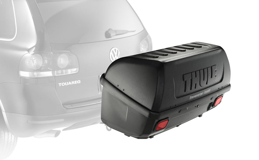 Amazon Com Thule 665c Transporter Combi Hitch Mount Cargo Box