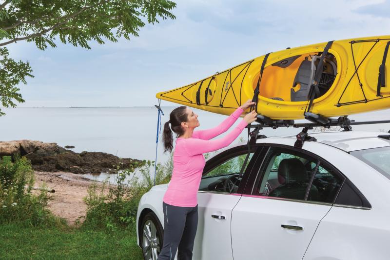 Amazon Com Sportrack Sr5513 Folding Kayak Carrier Black