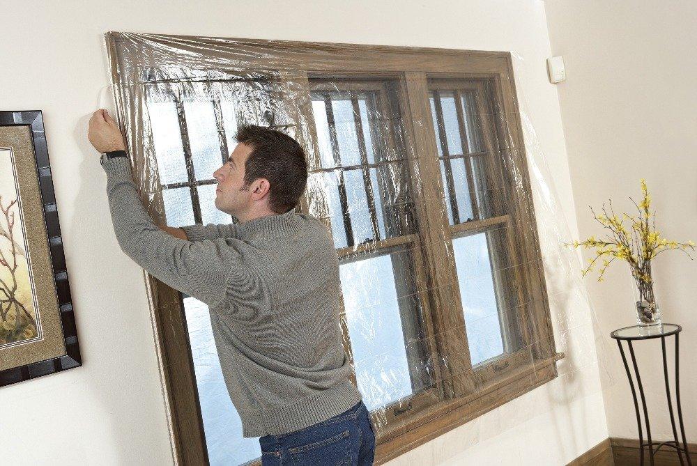 3m Indoor Window Insulator Kit 5 Window Weatherproofing