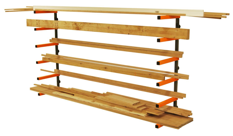 Htc Pbr 001 Portamate Wood Storage Lumber Organizer Rack