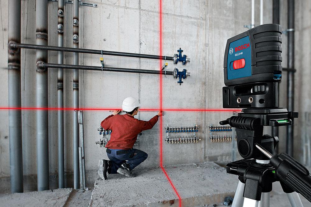 Amazon Com Bosch Gll2 40 Self Level Cross Line Laser Up