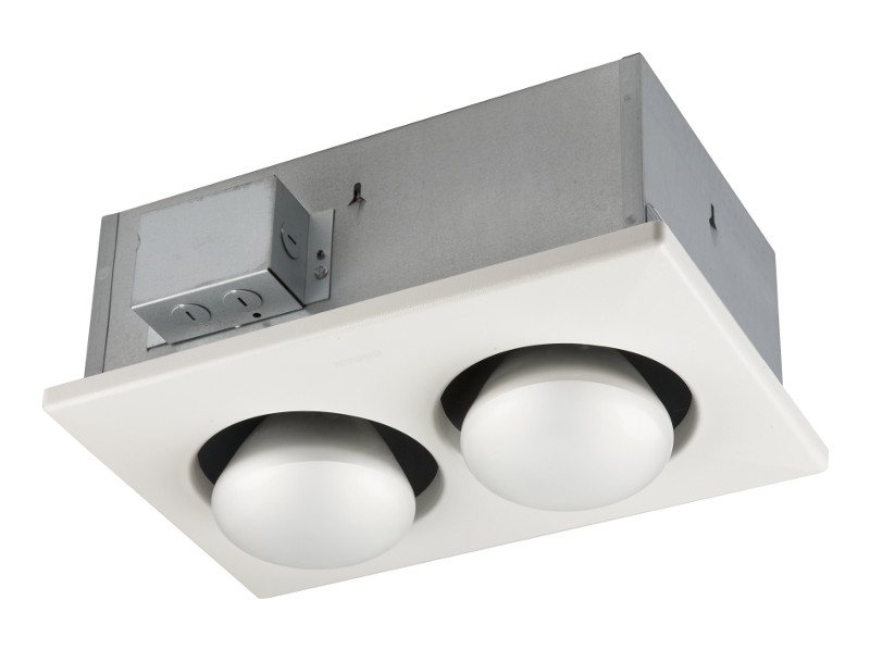 Broan Model 163 Two Bulb 250 Watt Bulb Heat Lamp Ceiling