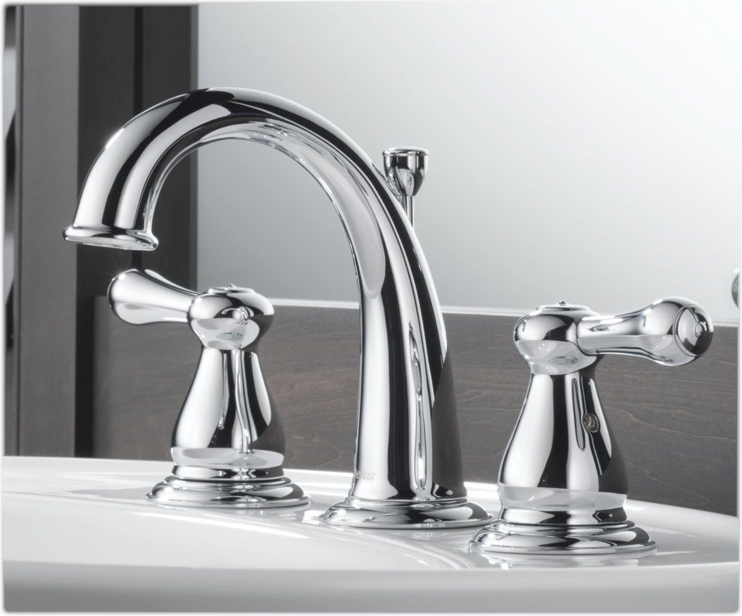Delta Kitchen Faucet Bronze Delta 3575lf Leland Two Handle Widespread Lavatory Faucet