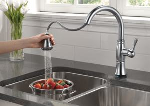 Delta Faucet 9197t Rb Dst Cassidy Single Handle Pull Down