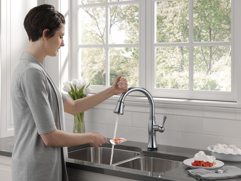 Touch Faucet In The Kitchen