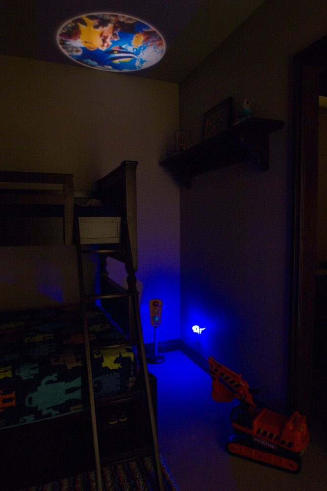 Projectables Led Plug In Night Light Tropical Fish