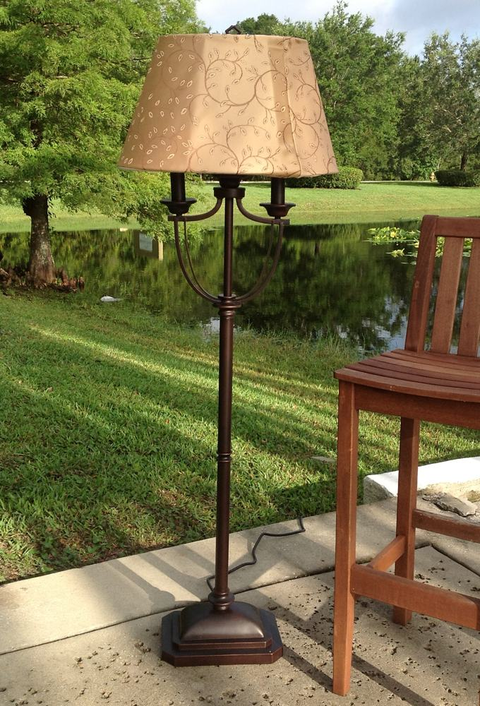 Kenroy Home Belmont Outdoor Floor Lamp Modern Floor Lamp