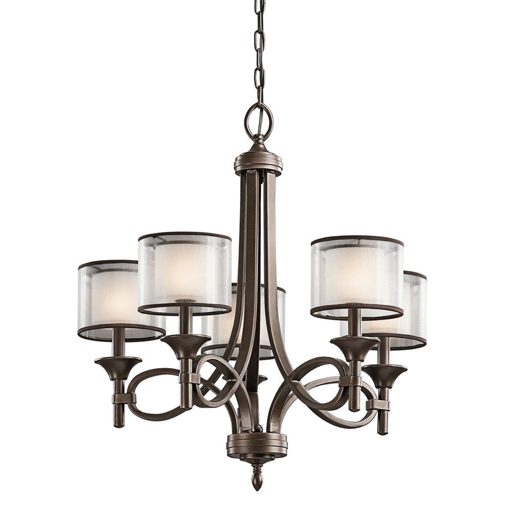Kichler Lighting 42381MIZ Lacey 5-Light Chandelier