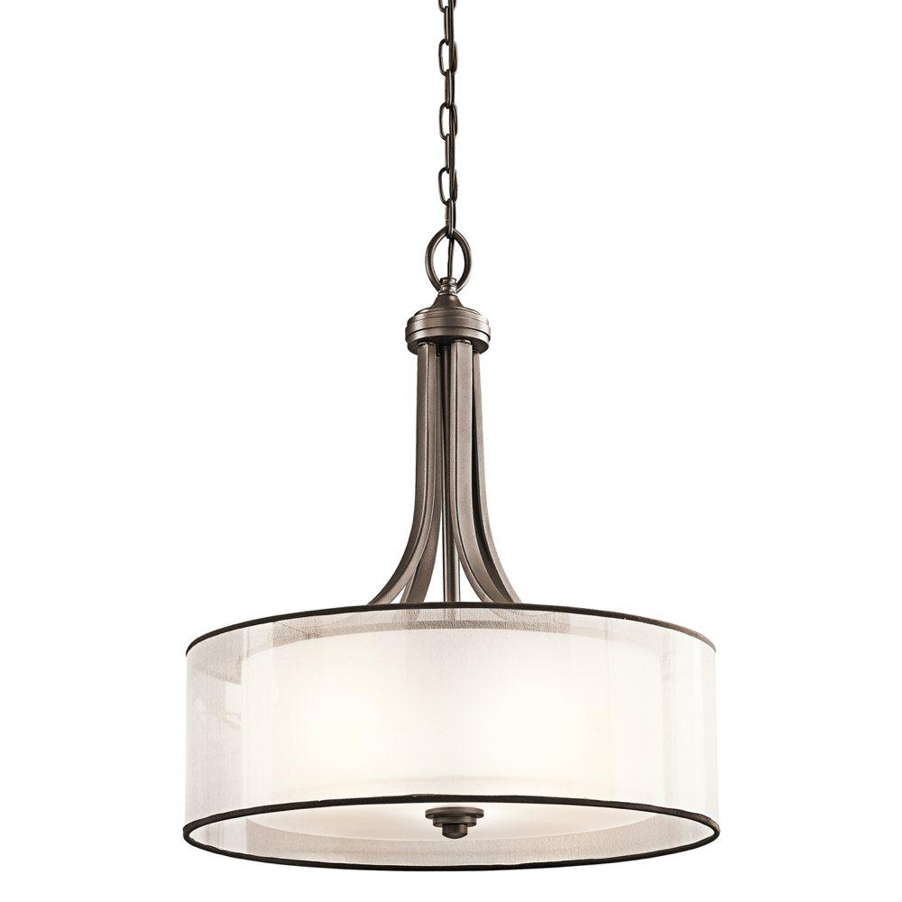 Kirchler: Kichler Lighting 42385MIZ Lacey 4-Light Inverted Pendant