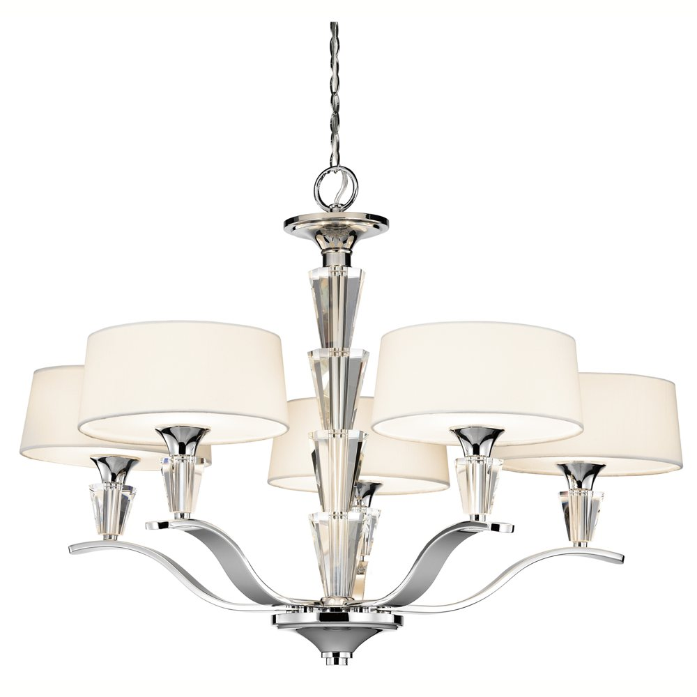 Kitchler: Kichler Lighting 42030CH Crystal Persuasion 5-Light