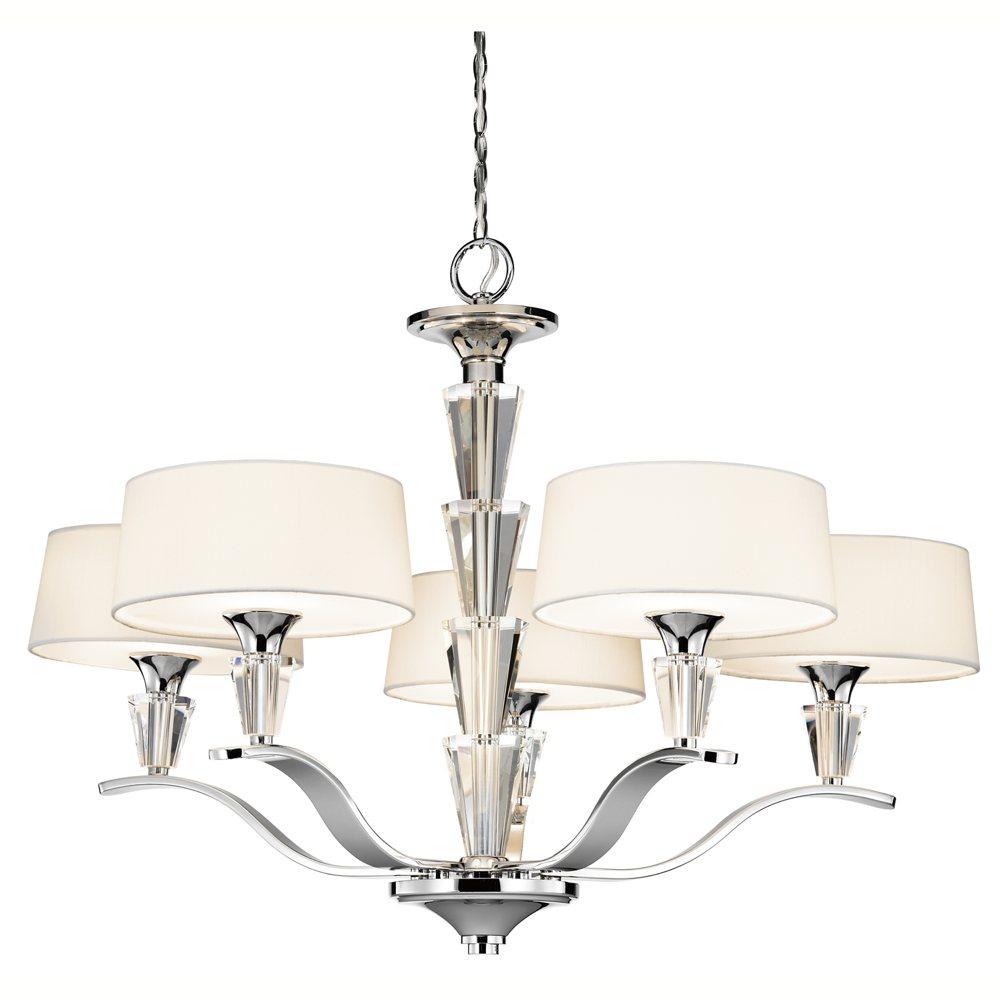 Kichler Lighting: Kichler Lighting 42030CH Crystal Persuasion 5-Light