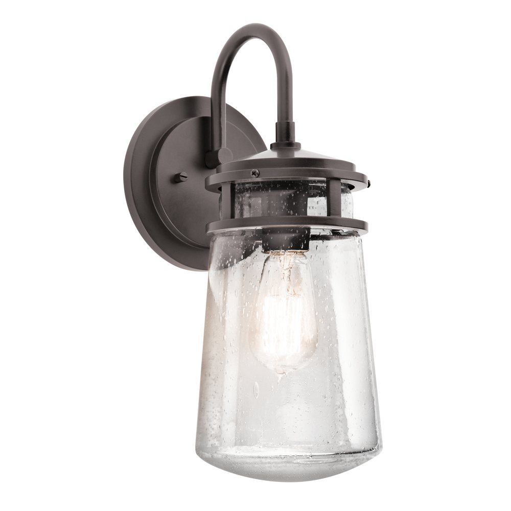 Kitchler: Kichler Lighting 49445AZ Lyndon 1-Light 15-Inch Outdoor