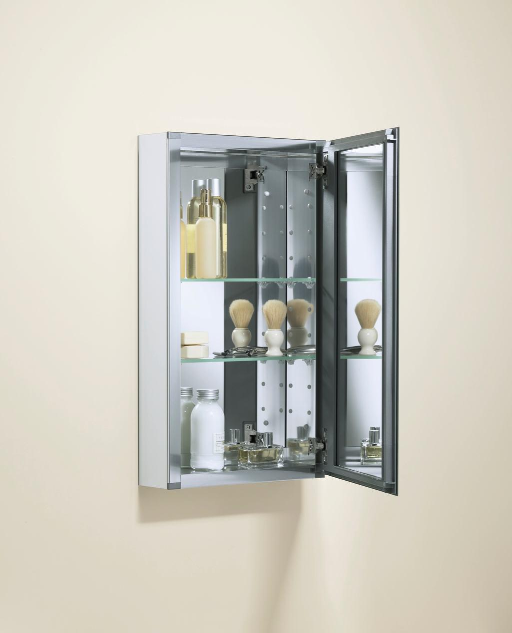 Kohler K Cb Clc1526fs Single Door 15 Inch By 26 Inch By 5