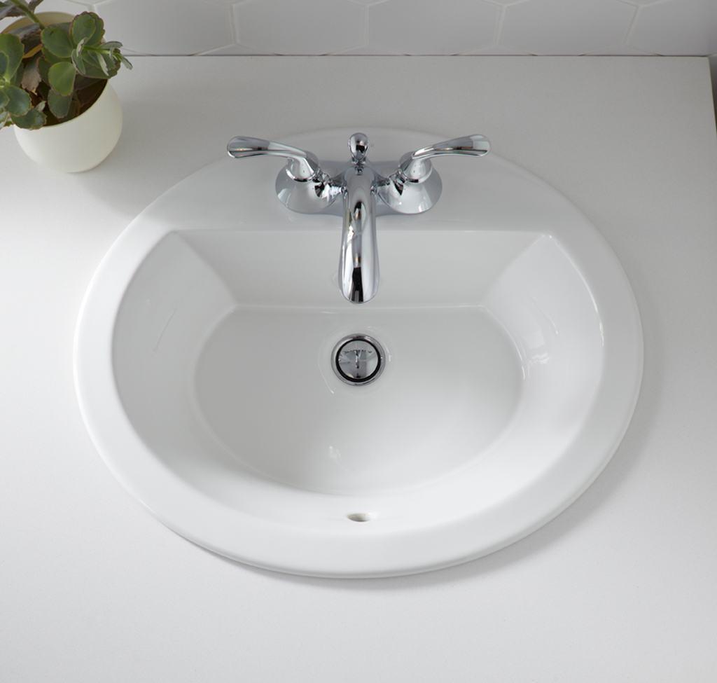 Kohler K 2699 1 0 Bryant Oval Self Rimming Bathroom Sink