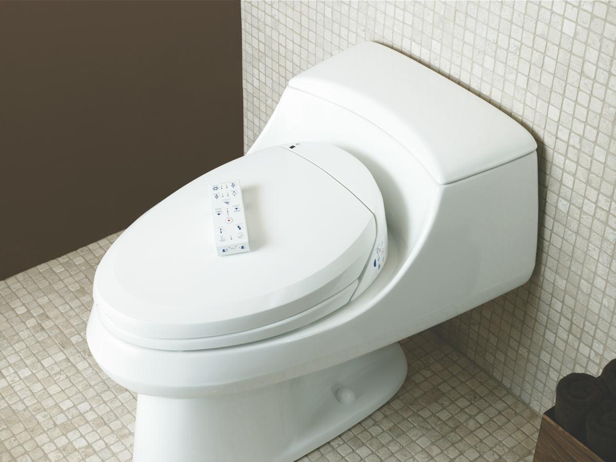 Kohler K 4709 0 C3 200 Elongated Bidet Toilet Seat With In