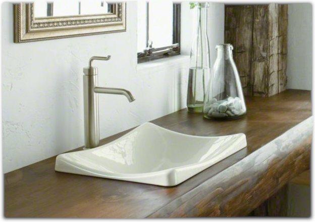 Kohler K 2833 0 Demilav Wading Pool Bathroom Sink White
