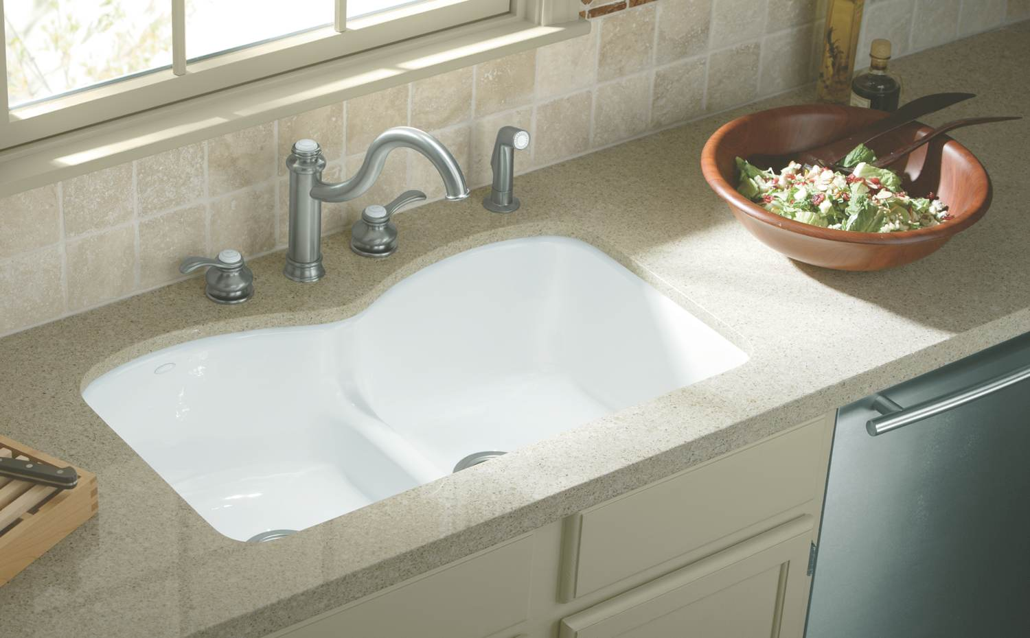 Undermount Kitchen Sink Template