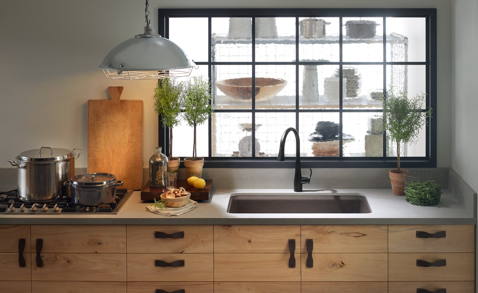 Usa Made Kitchen Faucets Kohler K 5871 5ua3 0 Riverby Single Bowl Undermount