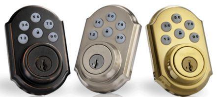 Kwikset 909 Smartcode Keyless Door Lock Satin Nickel