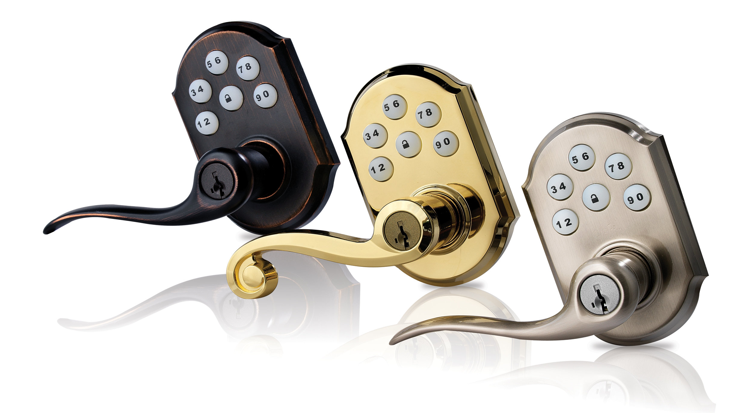 Kwikset Featuring Smartkey Smartcode Entry Lever Featuring