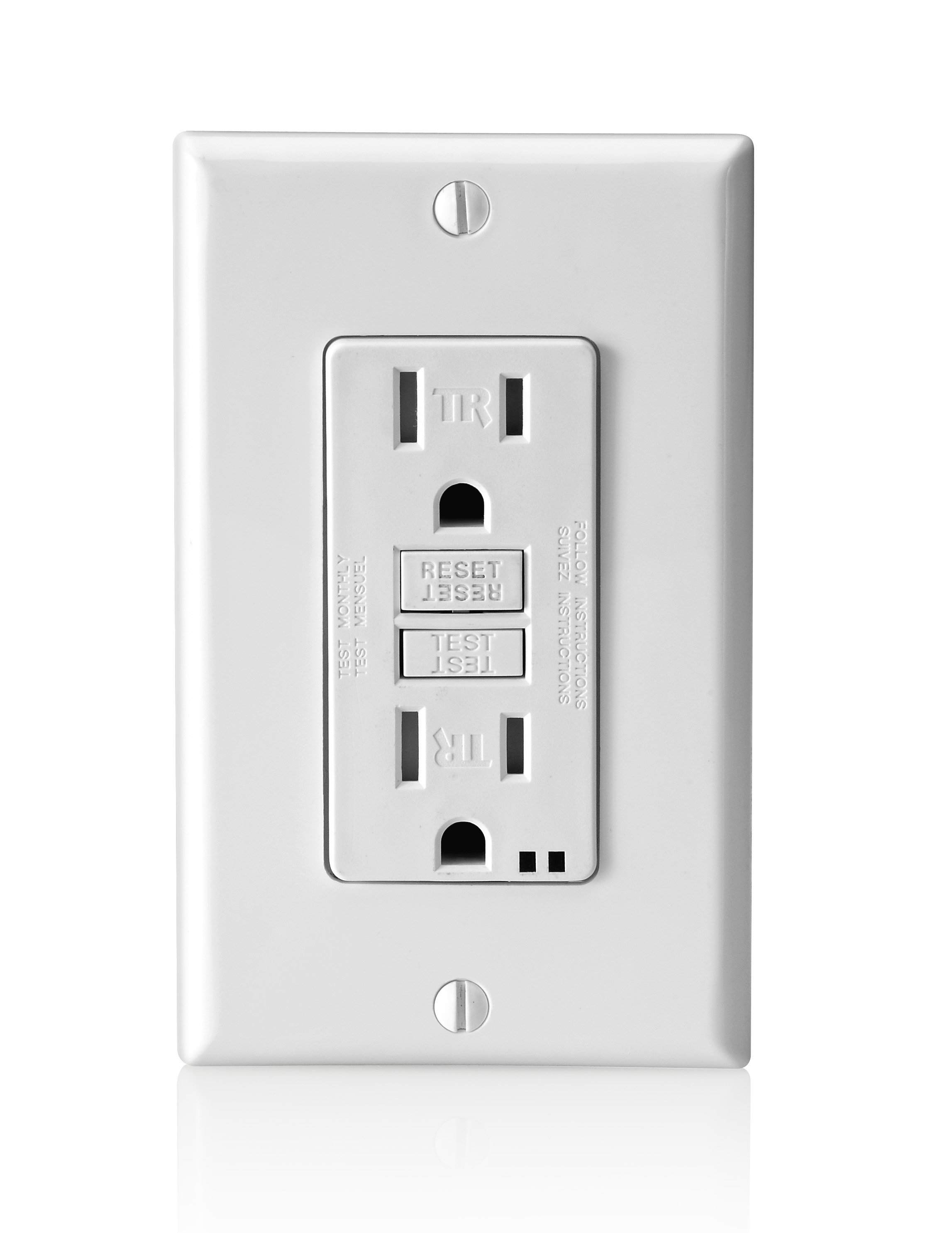 2) Reset all GFI outlets