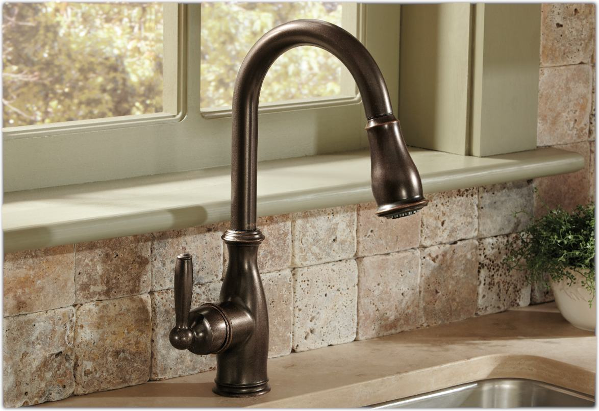 Moen Brantford Pull Down Kitchen Faucet