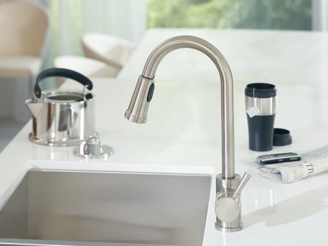 Kitchen Pullout Faucet With Pot Fill Mode