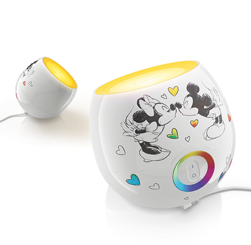 Philips Disney 717035548 Living Colors Mini Mickey Mouse ...