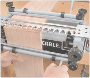 Leigh dovetail jig for Porter cable 4213 template
