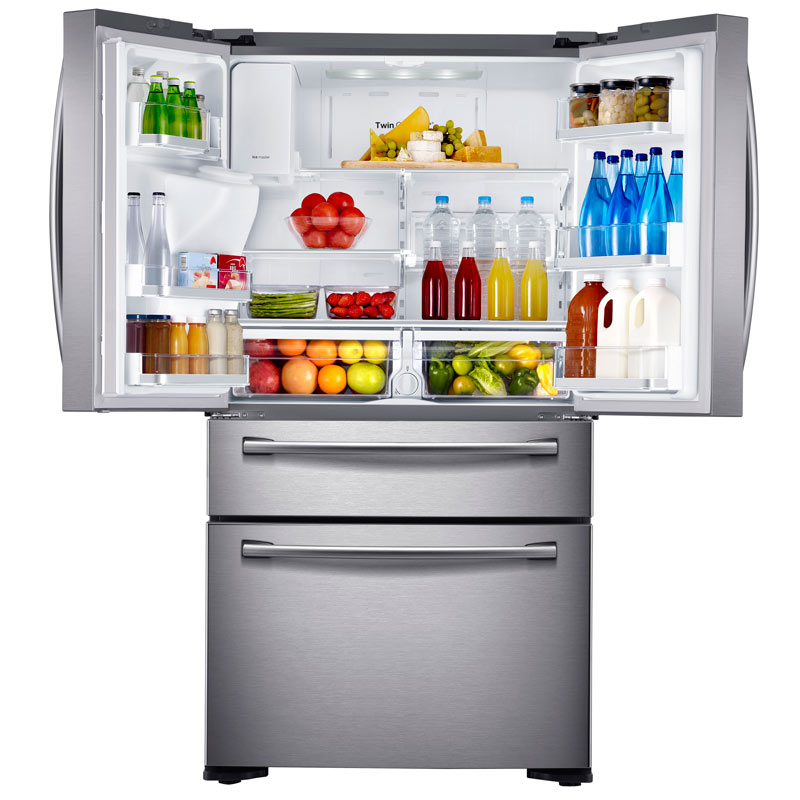 Counter Depth French Door Refrigerator Stainless Amazon.com: Samsung RF24FSEDBSR Stainless Steel Counter ...