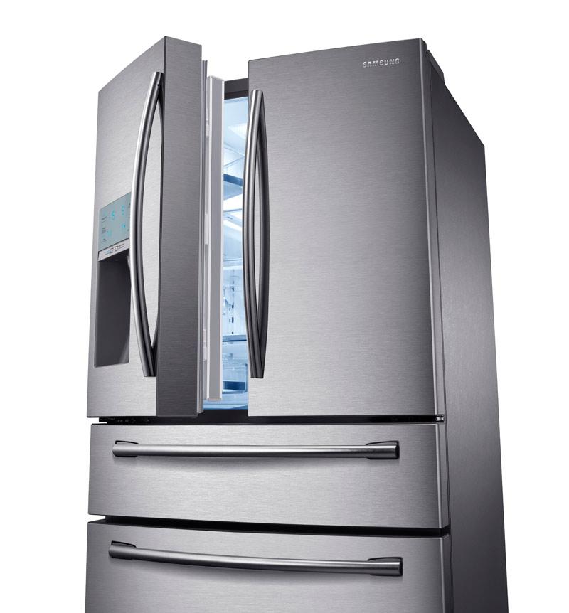 Counter Depth French Door Refrigerator Stainless Amazon.com: Samsung RF31FMESBSR 31 cu. ft. 4-Door ...
