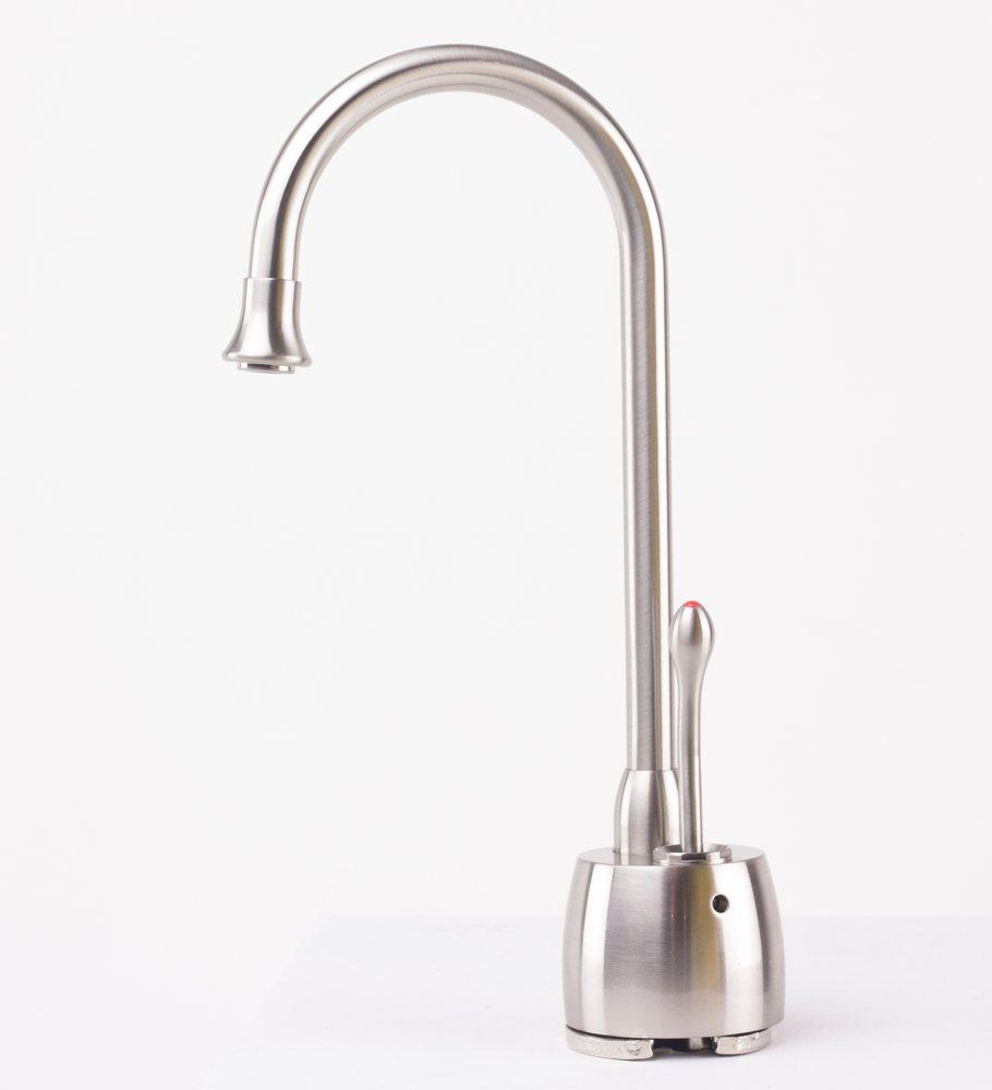 waste king hot water dispenser kitchen instant boiling tank satin nickel faucet ebay. Black Bedroom Furniture Sets. Home Design Ideas
