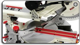 0^0 Jet JMS-12SCMS 12-Inch Dual-Bevel Slide Compound Miter