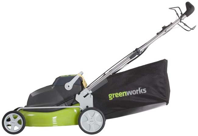 Amazon.com : GreenWorks 25092 18-Inch 24-Volt Cordless ...