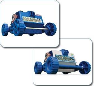 Aqua Products Aprv Pool Rover Robotic Above Ground Bowl