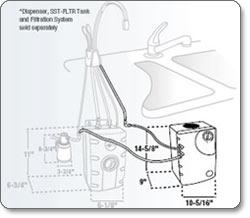 Insinkerator Cwt 00 Chilled Water Tank Water Dispenser