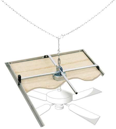 Drop Ceiling Lighting Fixtures: Westinghouse Lighting 0107000 Saf-T-Grid For Suspended