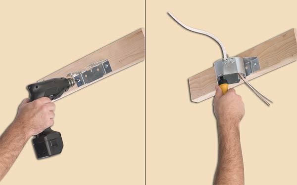 Westinghouse Lighting 0124000 Sidemount Plus Fan Box 2 1