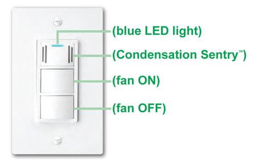 Dewstop Fs 100 Condensation Control Sentry Fan Switch