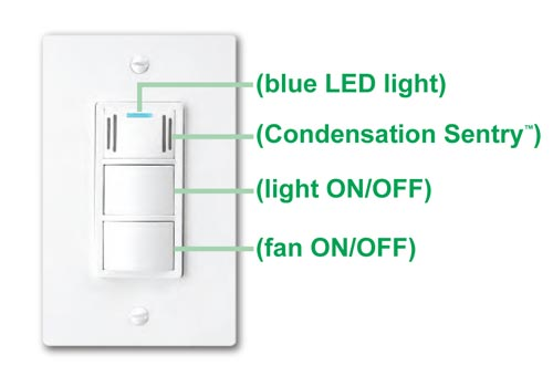 Dewstop Fs 200 Condensation Control Sentry Fan And Light