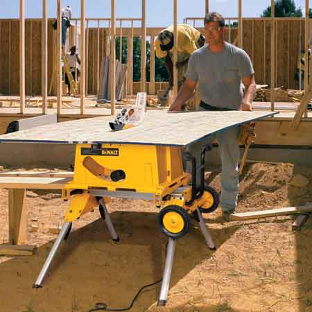 Amazon Com Dewalt Dw744xrs 10 Inch Job Site Table Saw